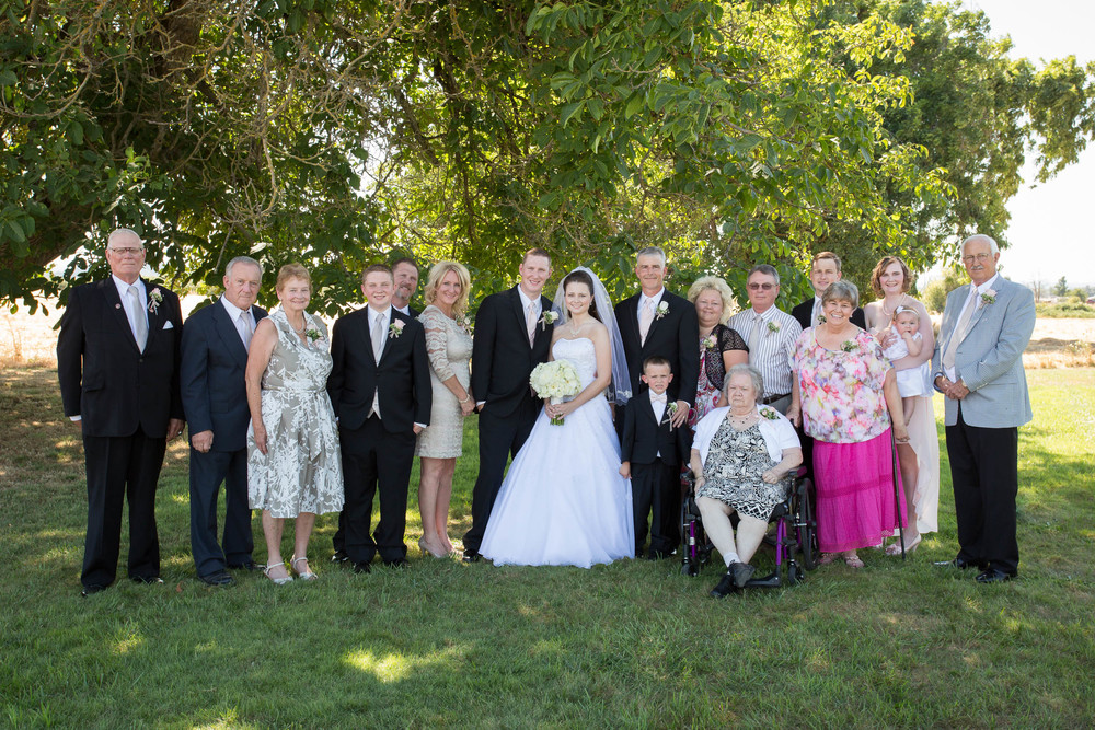 As two wonderful families come together and join as one big family. Nothing is more special than having your family surrounding you on your wedding day.