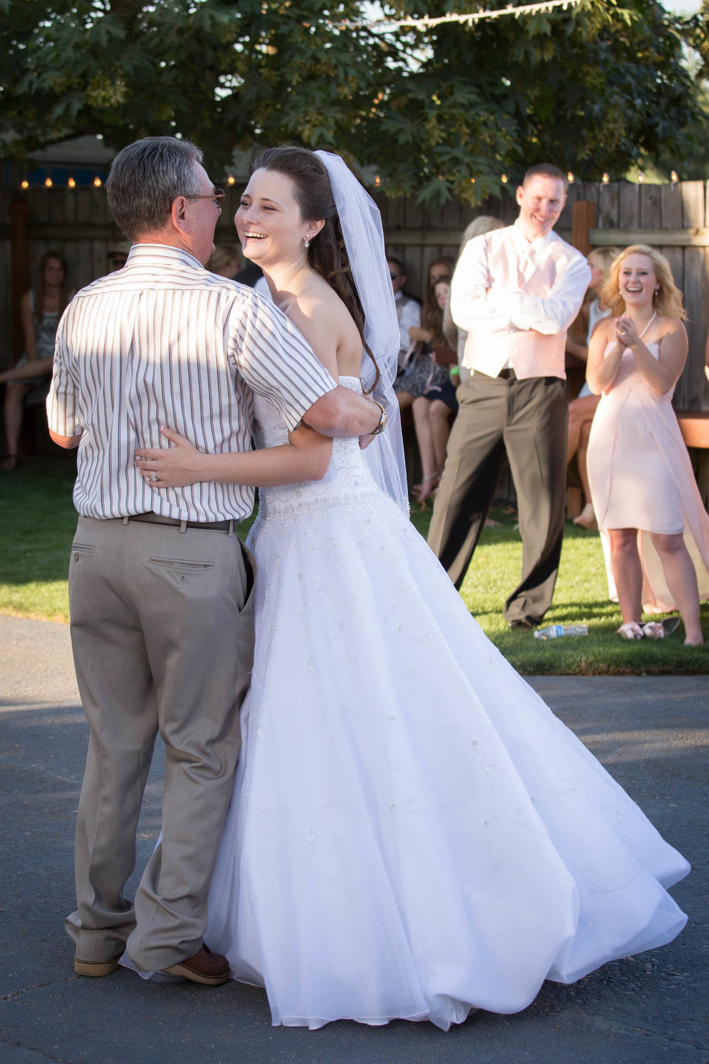 Kendall dancing with her grandpa