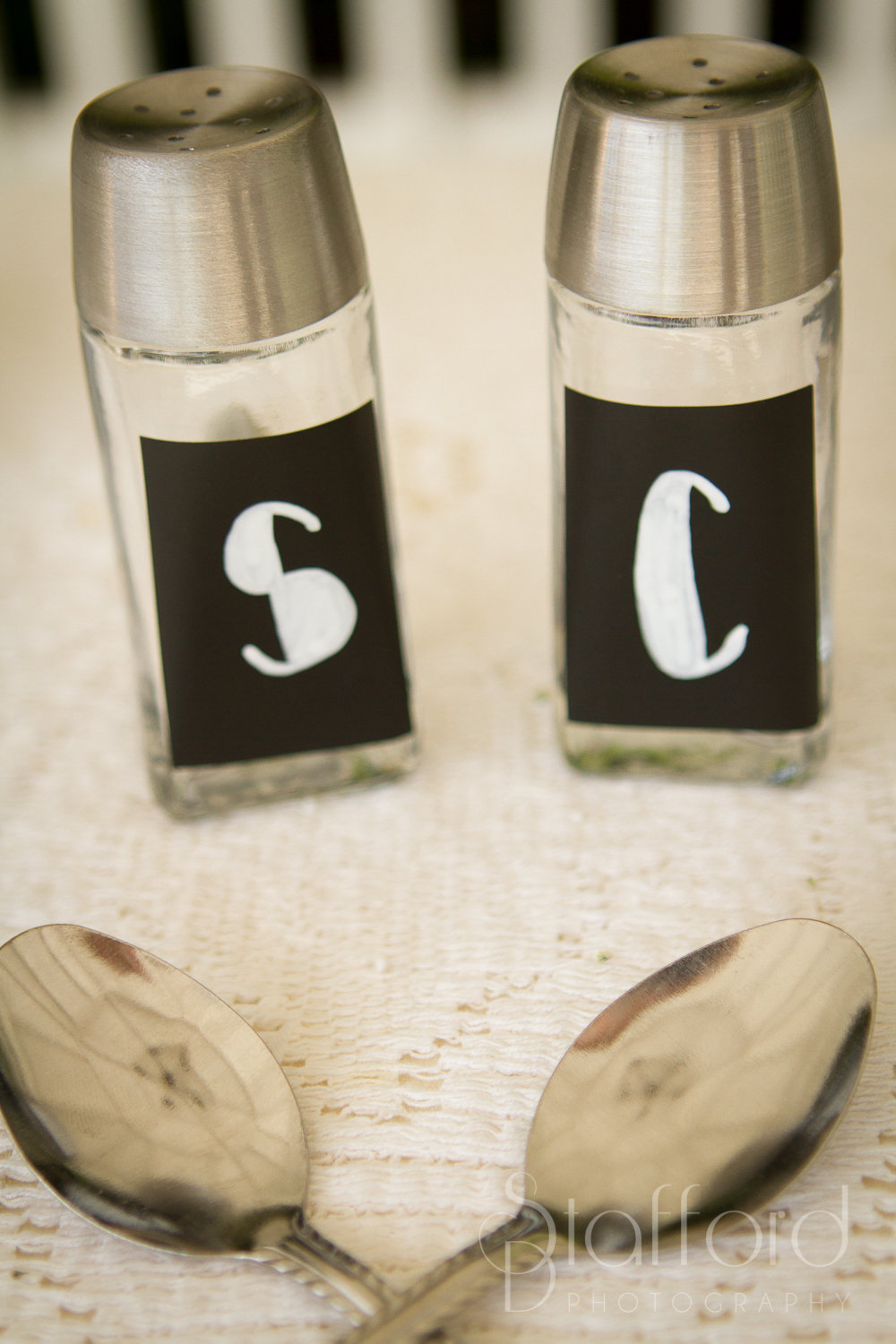 During the ceremony Sara and Cody put salt and pepper in shakers and glued them together. Salt and pepper are always together. This symbolizes their marriage of being together no matter what. And if you pull them apart you will break either one or both of them.