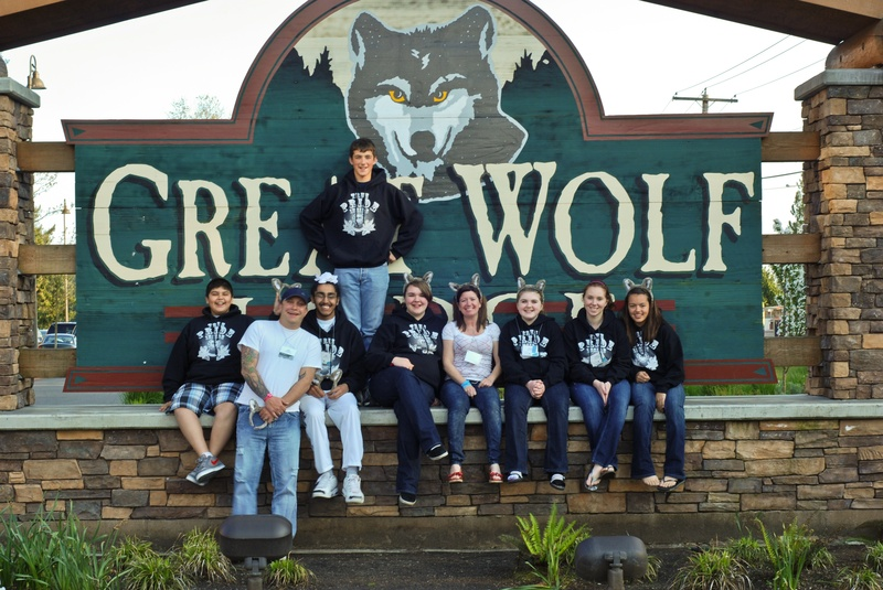 Seven Street Team-ers were honored with the IMPACT award at the 2011 Spring Youth Forum at Great Wolf Lodge. They were judged to have made the greatest impact in their community in the fight again substance abuse and other destructive behaviors.