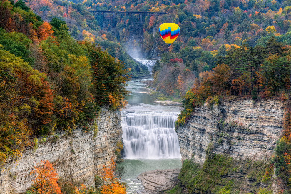 Hiking the Finger Lakes Trails: Trees and Gorges in Wine Country