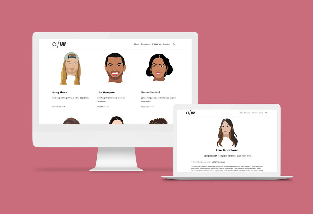 Site development and branding by  Kate Proulx