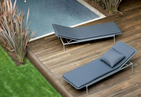 Amazing Baia Chaise Lounge / Sunbed (outdoor)