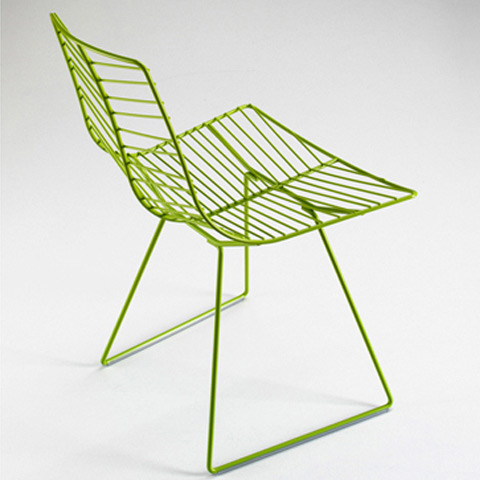 Leaf Dining Chair, Sled Base (outdoor)