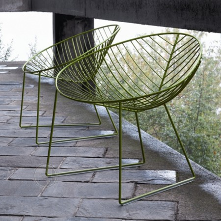 leaf lounge chair outdoor
