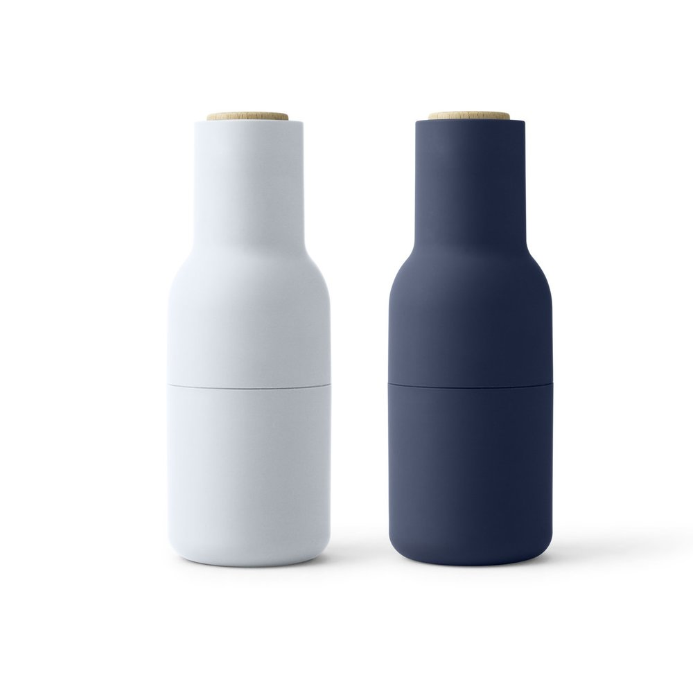 Bottle Grinders in Classic Blue