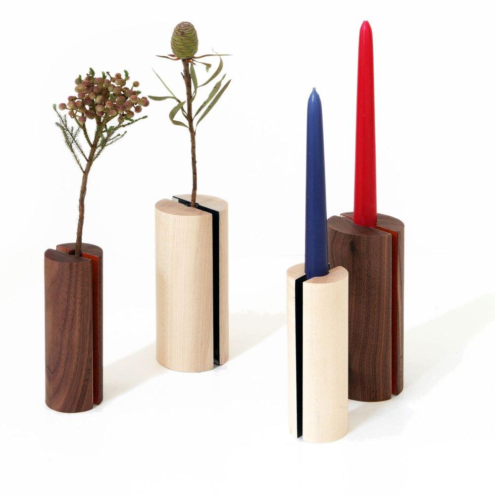 Komorebi Vase-Candle Holder
