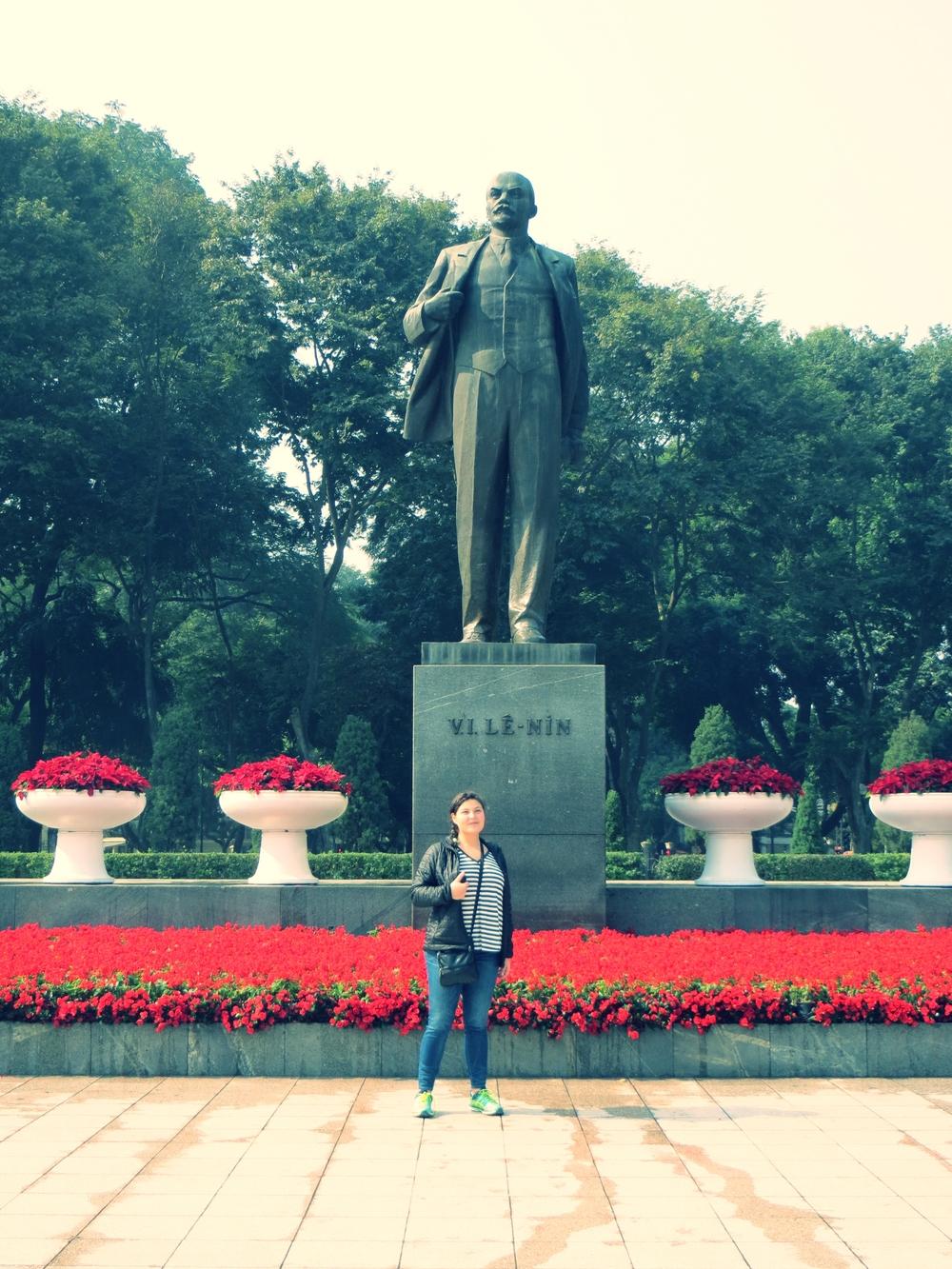 Bringing out my inner Lenin