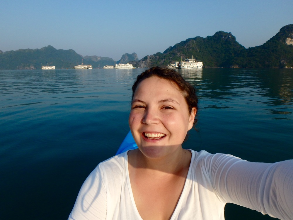 Kayak selfies!