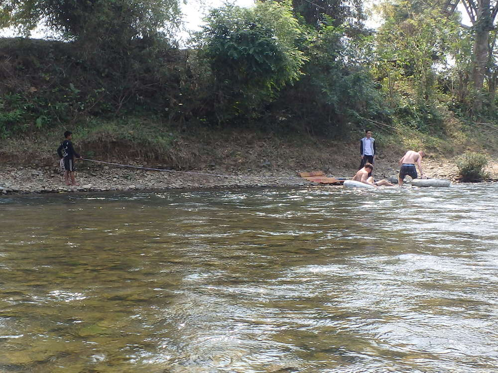 Literally pulling drunk tubers from the river