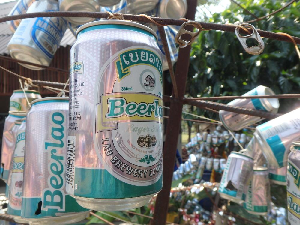 Beer Lao tree