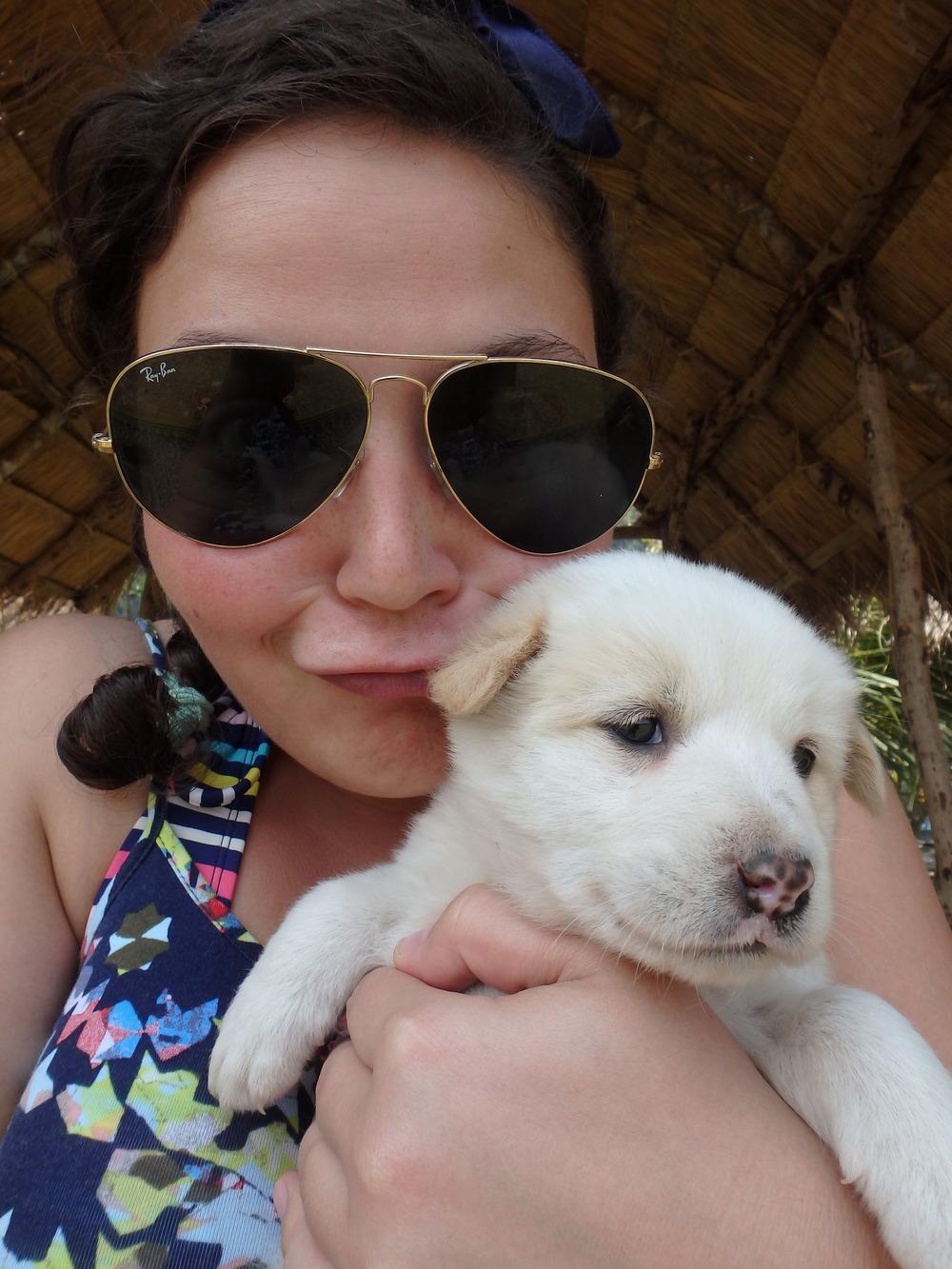 Me 'n' puppy