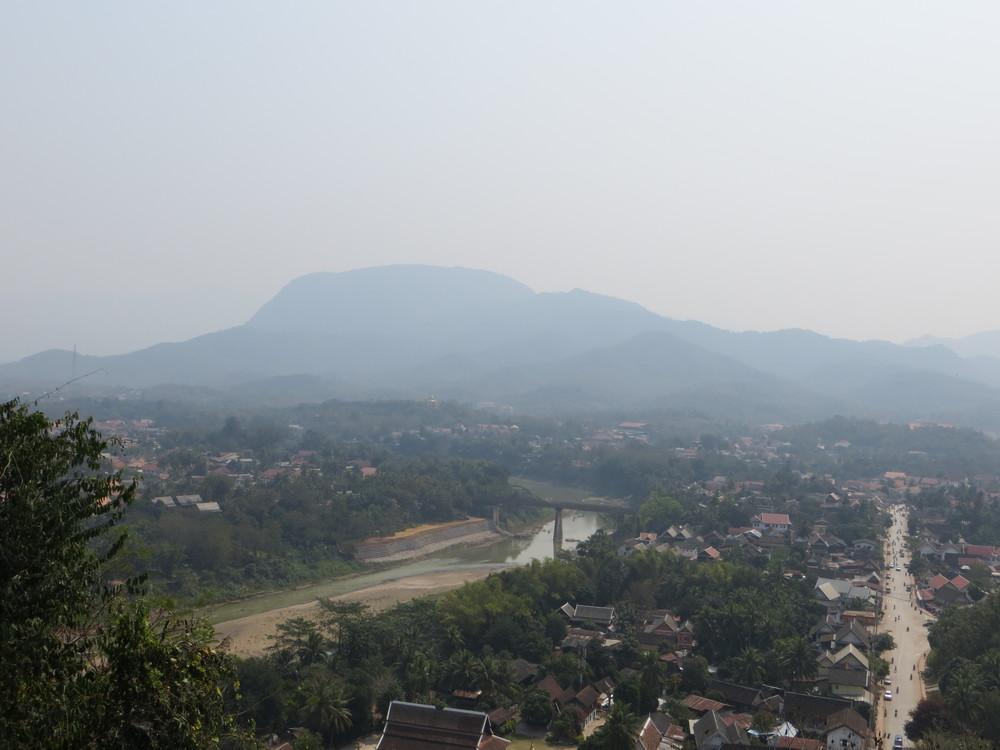 View of Luang Prebang