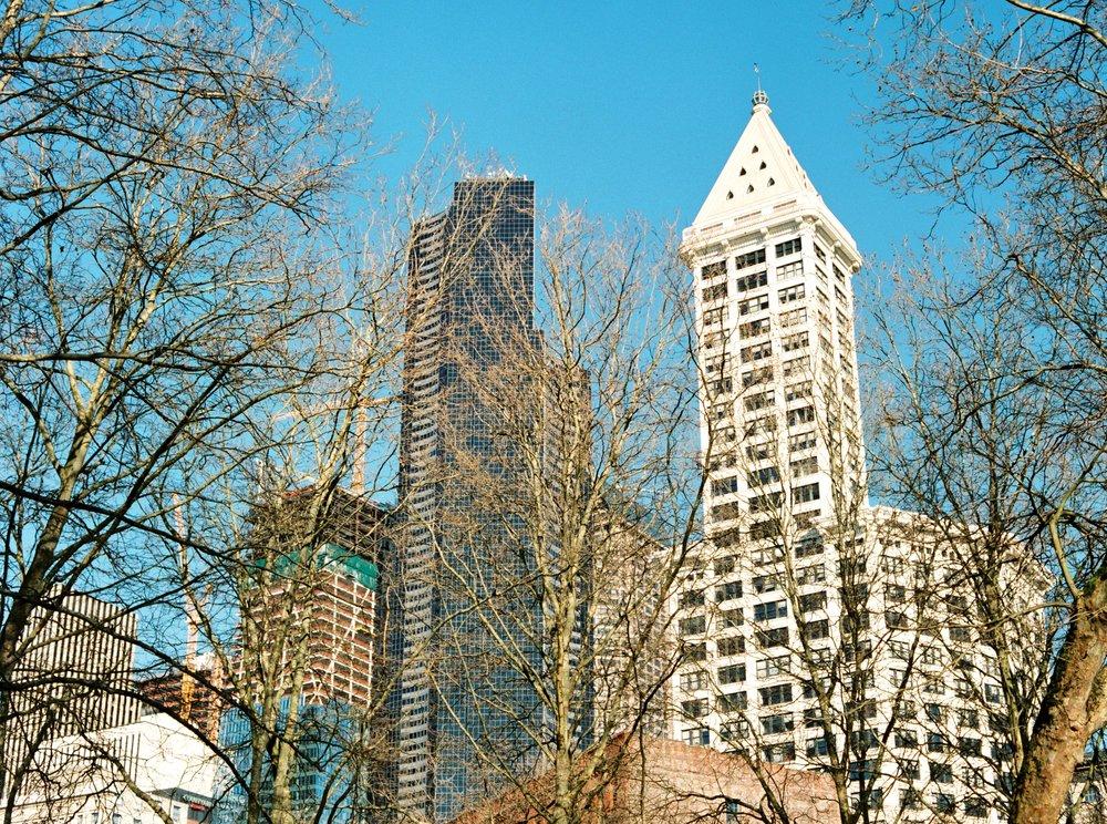 Downtown Seattle, Winter 2016