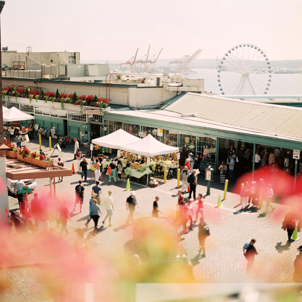 Pike Place Market, Summer 2014