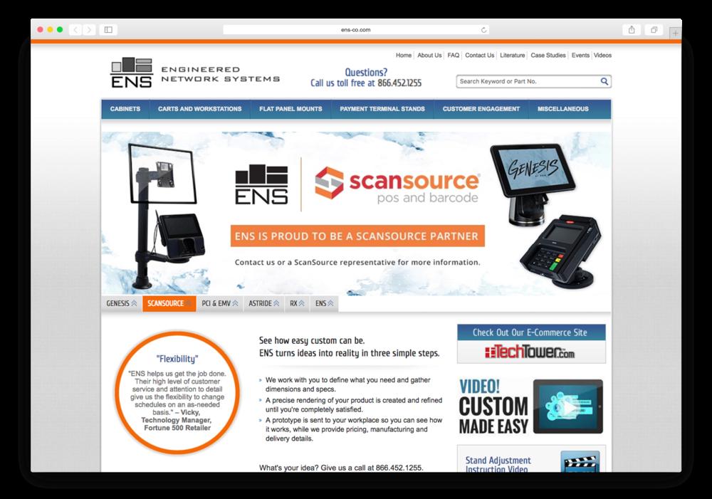 Old ENS Corporate Website
