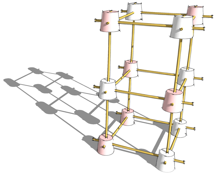 Spaghetti and marshmallow structures — MicroHackers