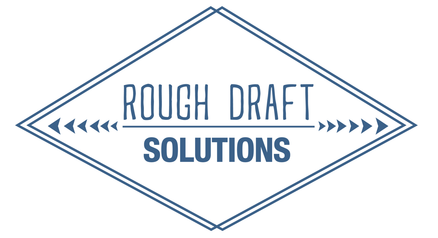 how to walk the line between being professional and personable in rough draft solutions