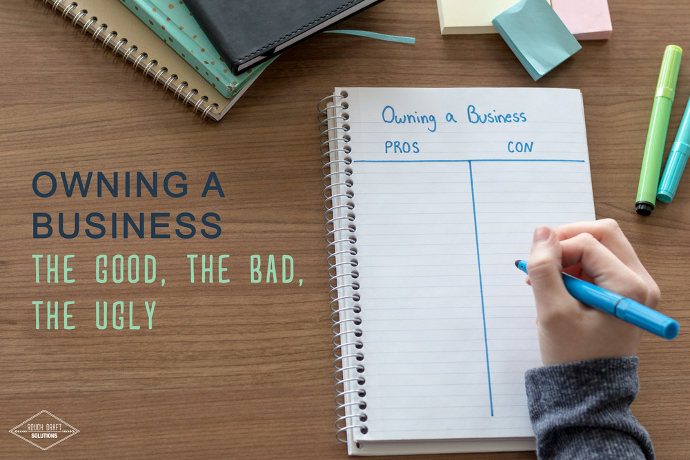 Owning a Business: The Good, The Bad, The Ugly