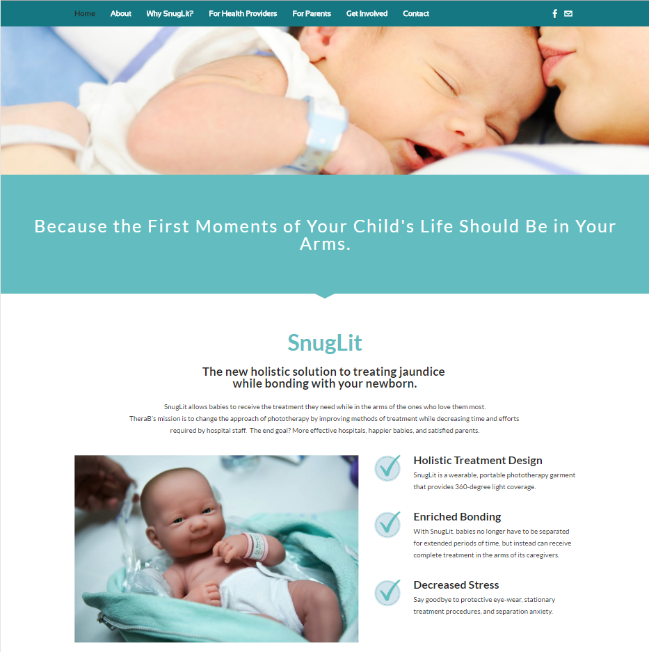 TheraB Medical Homepage