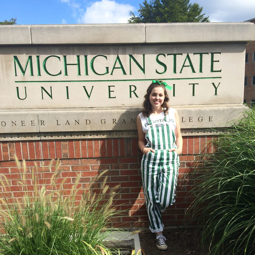 We're so excited to welcome our newest team member, Suzanna! She's a big time Michigan State University fan!