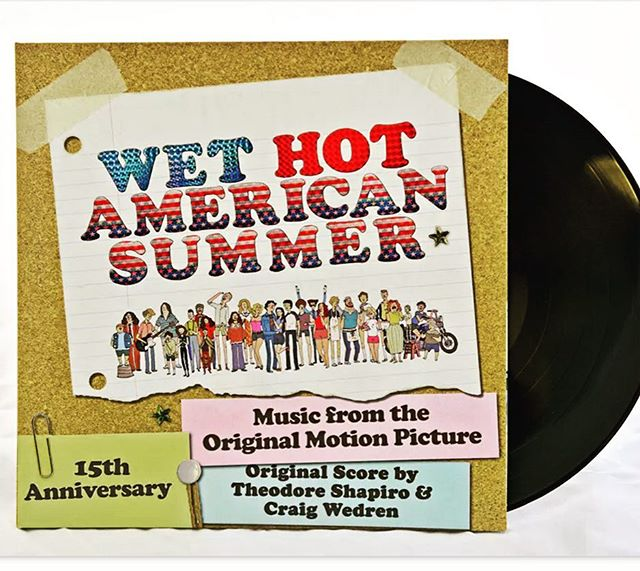 Ain't no summer like a hot & wet one☀️💦 Original music from the original #wethotamericansummer Dig: http://apple.co/1WGXcXK Vinyl: http://www.rustedwave.com/product/wet-hot-american-summer-original-music-from-the-motion-picture