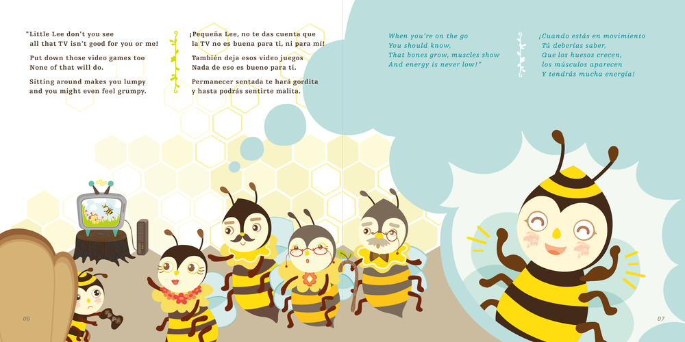 lee the bee books by shalini