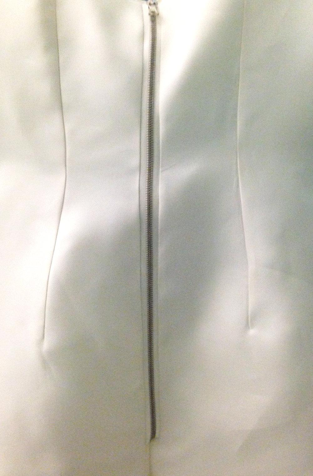Custom Bridal Gown; 2015, Stefanie Tecata
