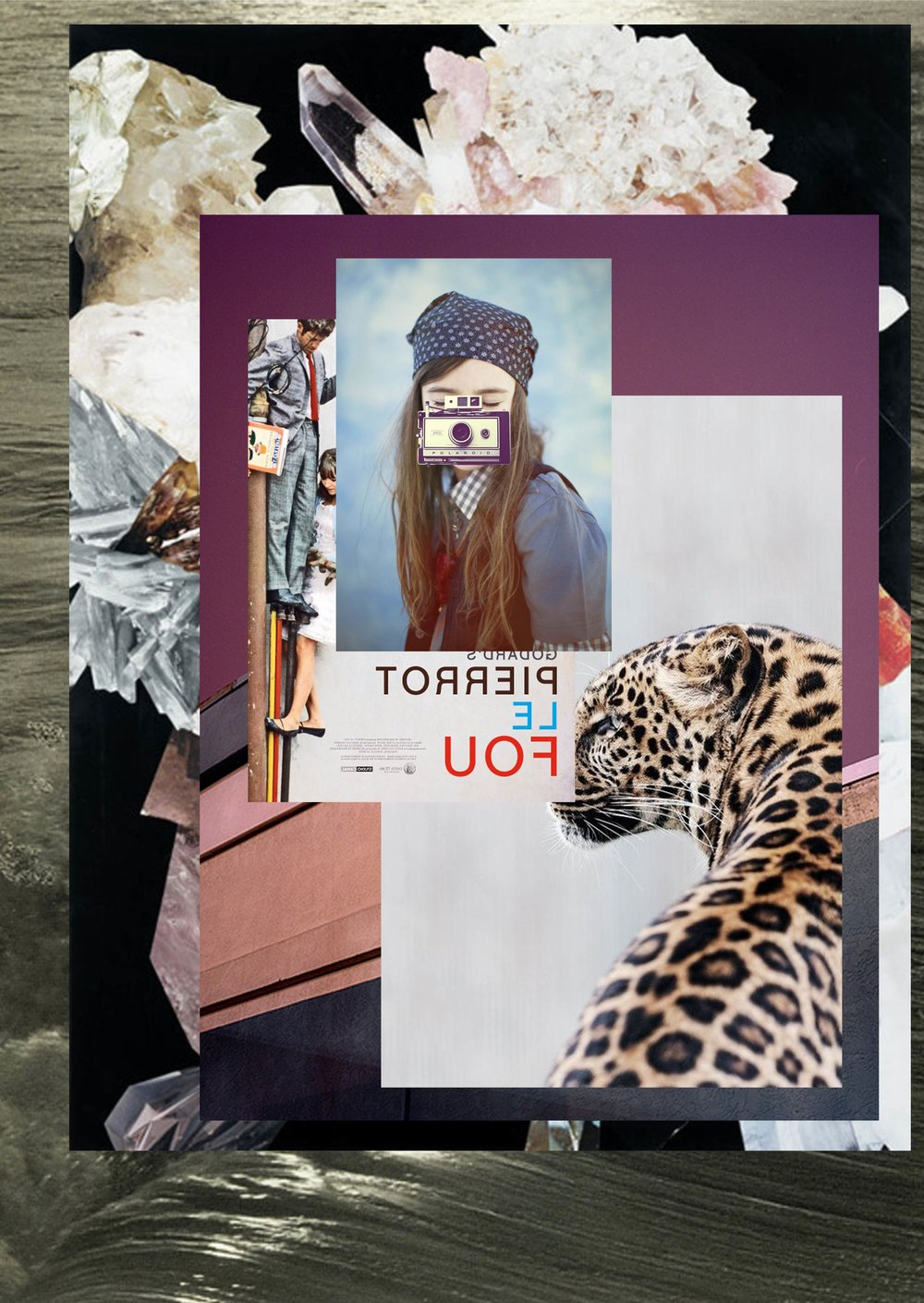 """Mood Board for """"Surreal Safari""""; Summer 2015, First Impressions, Macy's"""