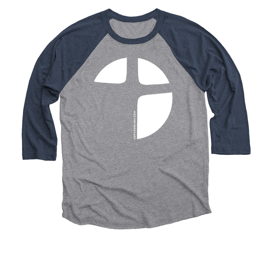 Baseball Tee - Vintage Navy & Heather