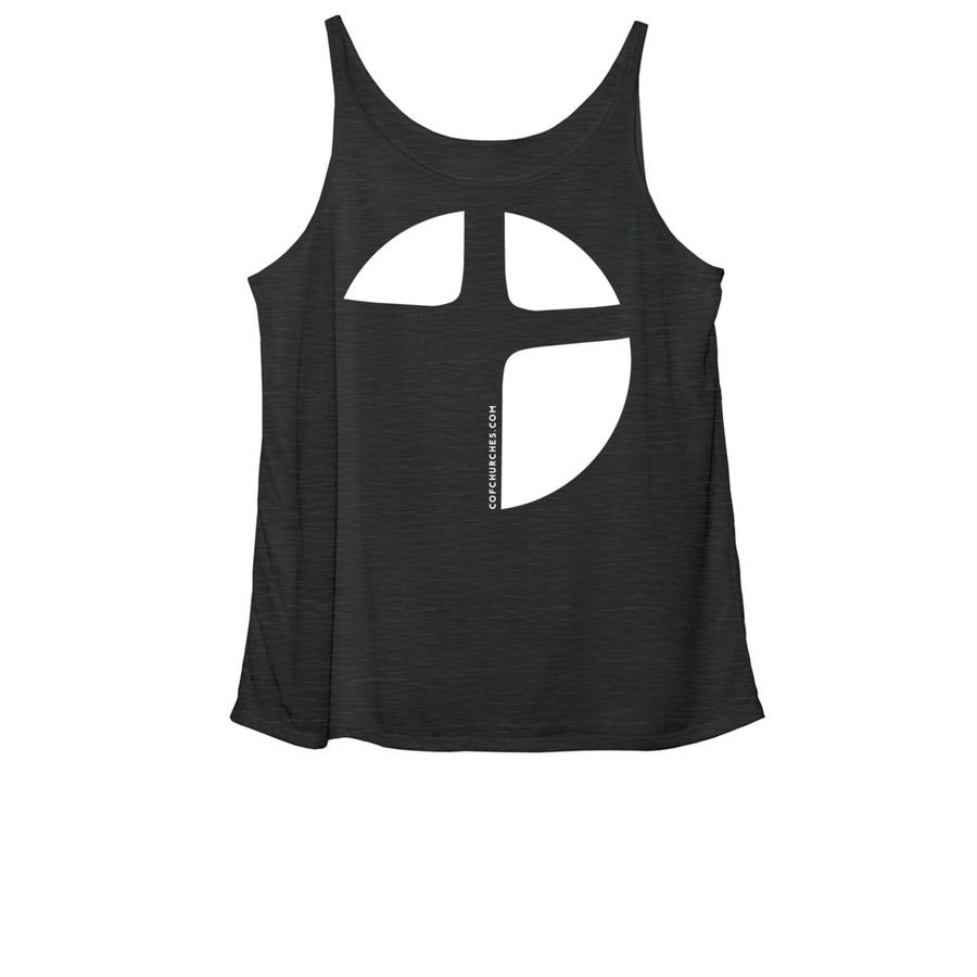 Women's Slouchy Tank - Black