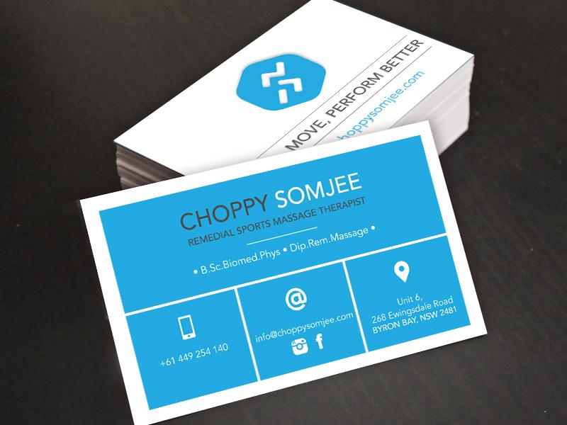 Logo and Business card design — Caroline LEJEUNE