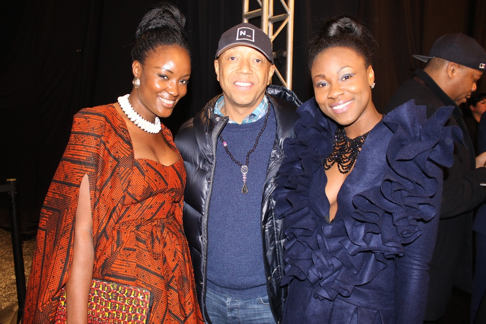 We got our mogul on with Russell Simmons.  Super cool guy.