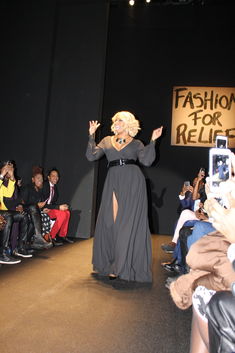 Nene Leakes ripped the runway