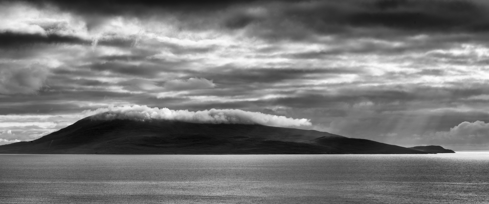 Cheapabhal, South Harris with a blanket of cloud.