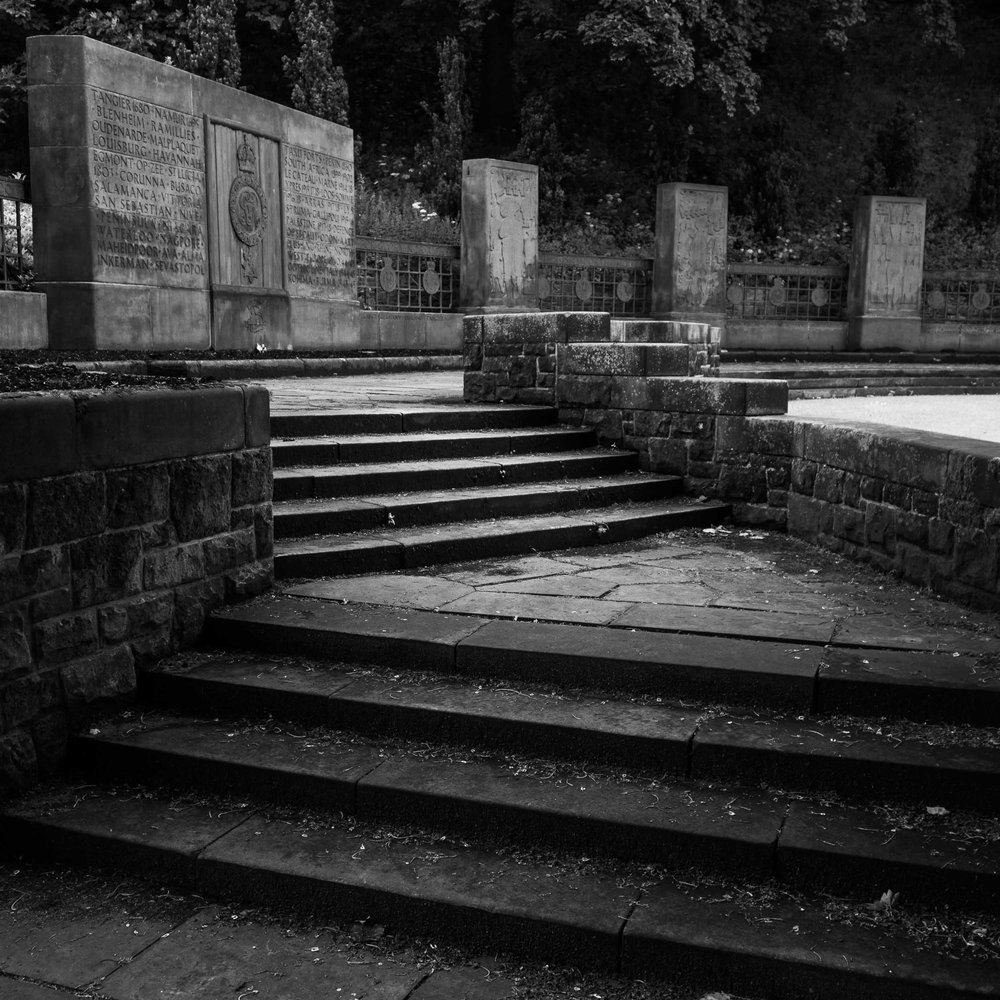 Steps in Princes St. Gardens