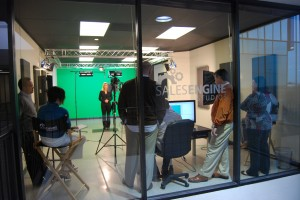 Sales Engine Studios is running full steam ahead creating tons of video content.