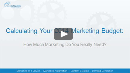calculating your 2014 marketing budget