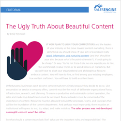 ugly truth about beautiful content