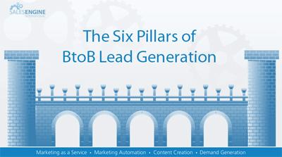the six pillars of B2B lead generation