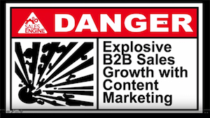 Explosive B2B sales Growth with content marketing