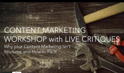 WHY YOUR CONTENT MARKETING ISN'T WORKING & HOW TO FIX IT