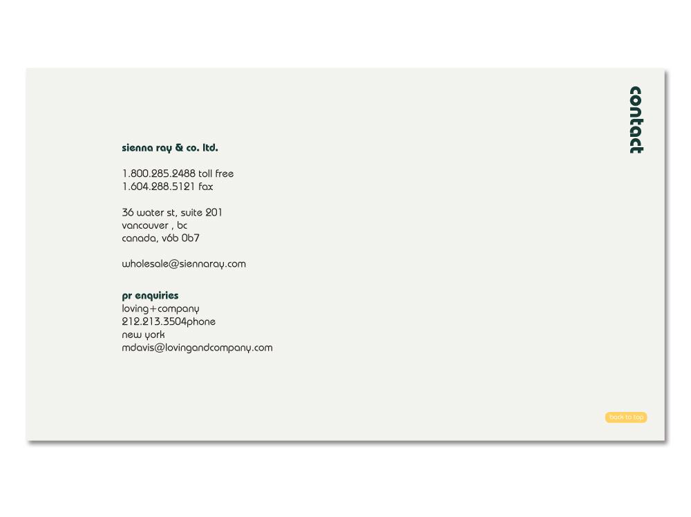 Sienna Ray Iconic NYC // Catalogue
