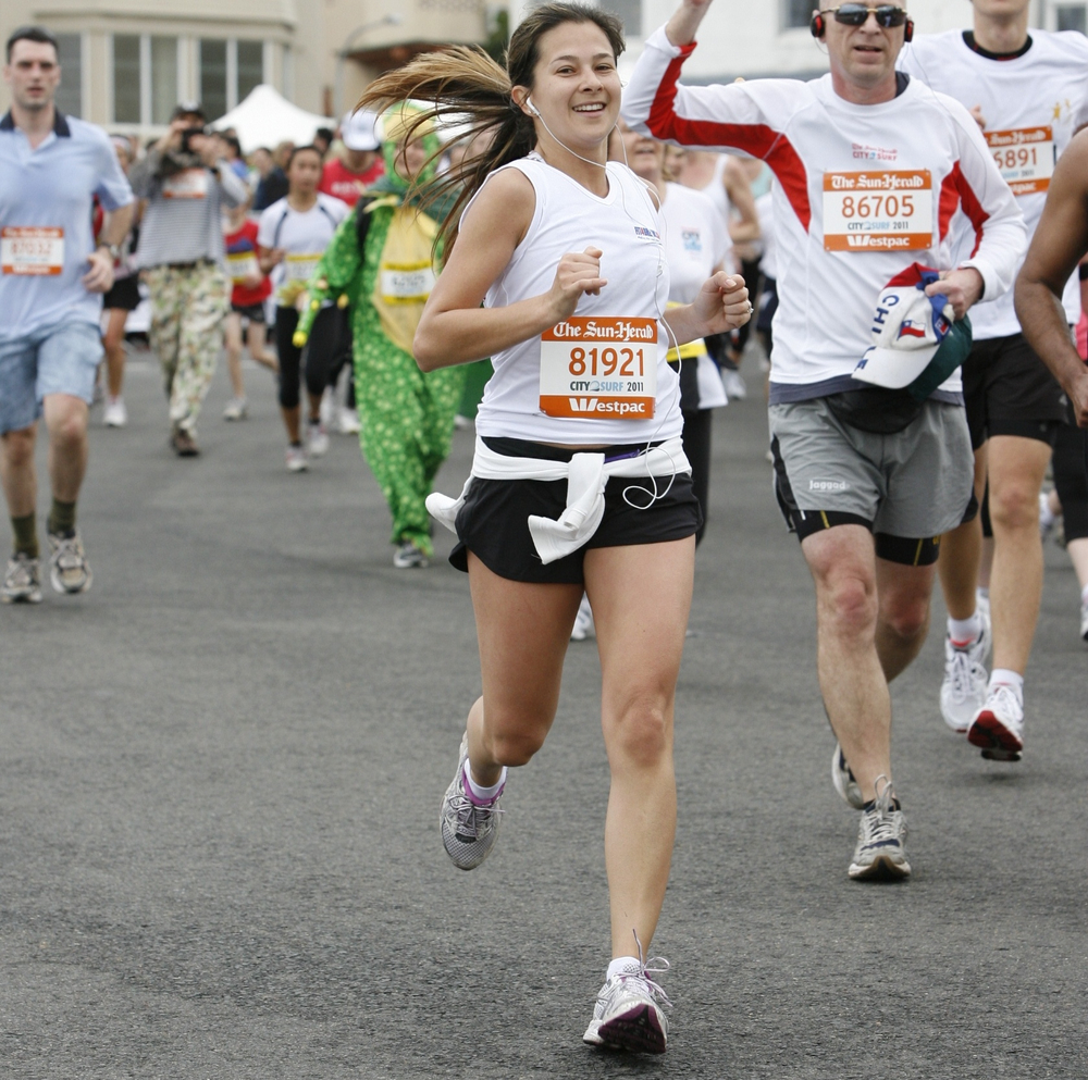 Andressa Running the City2Surf