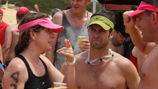 Debrief with Shane and Natasha after the 2012 3 Points Challenge