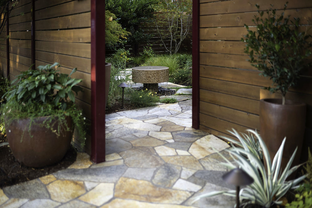 MacGraw, Ashland, Oreogon, Landscape design and installation