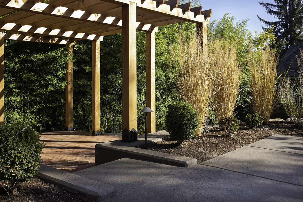 Dakin, Ashland, Oregon — Landscape design and installation