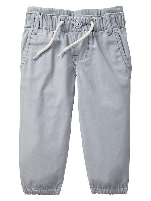 Poplin beach pants