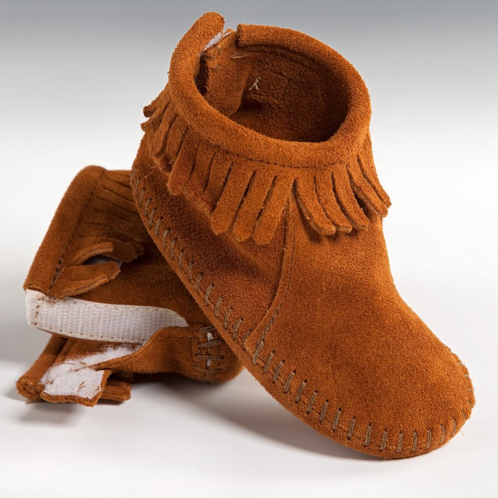 Minnetonka infant Bootie