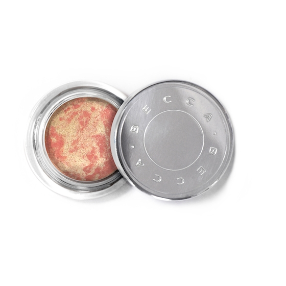 BECCA Beach Tint Summer Souffle in Guava/Moonstone - perfect peachy highlighting blush for cheeks and face